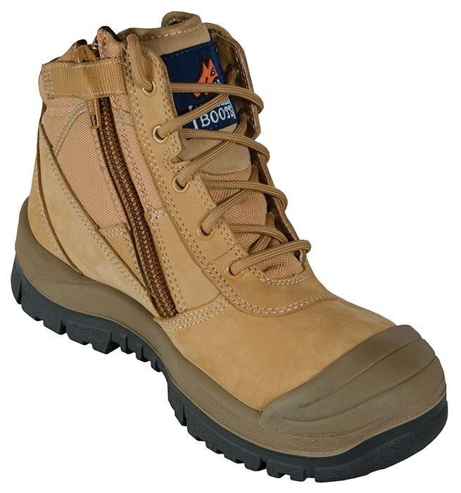 Mongrel Boots - Wheat ZipSider Boot (461050)