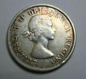 1963 Canada Dollar Silver Canadian Coin Elizebeth Ll Dei Gratia Regina Ebay