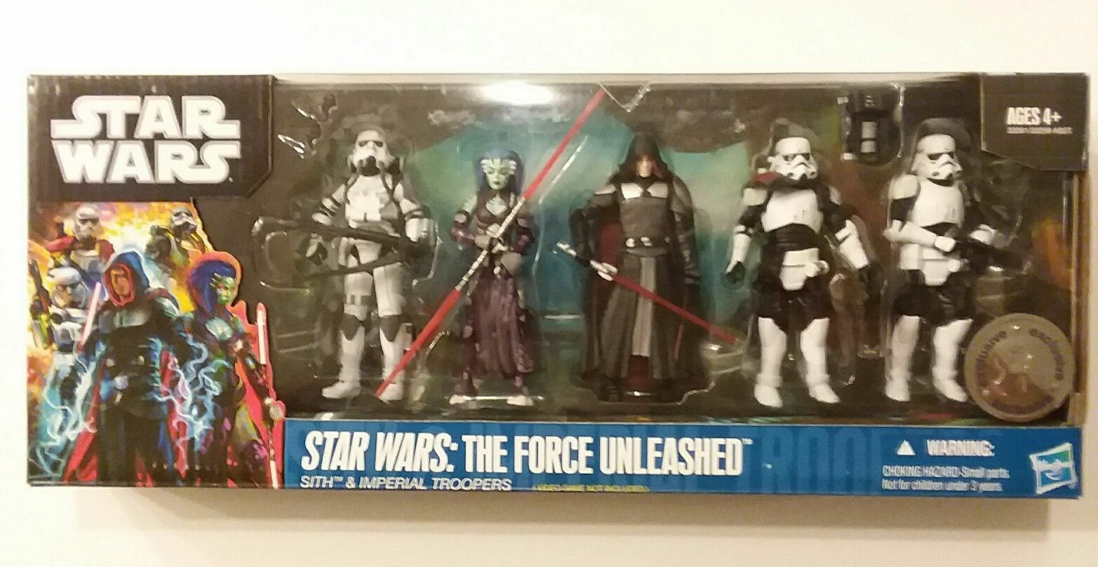 STAR WARS FORCE UNLEASHED STARKILLER GALEN MAREK BRAND NEW PHOBOS SET RARE