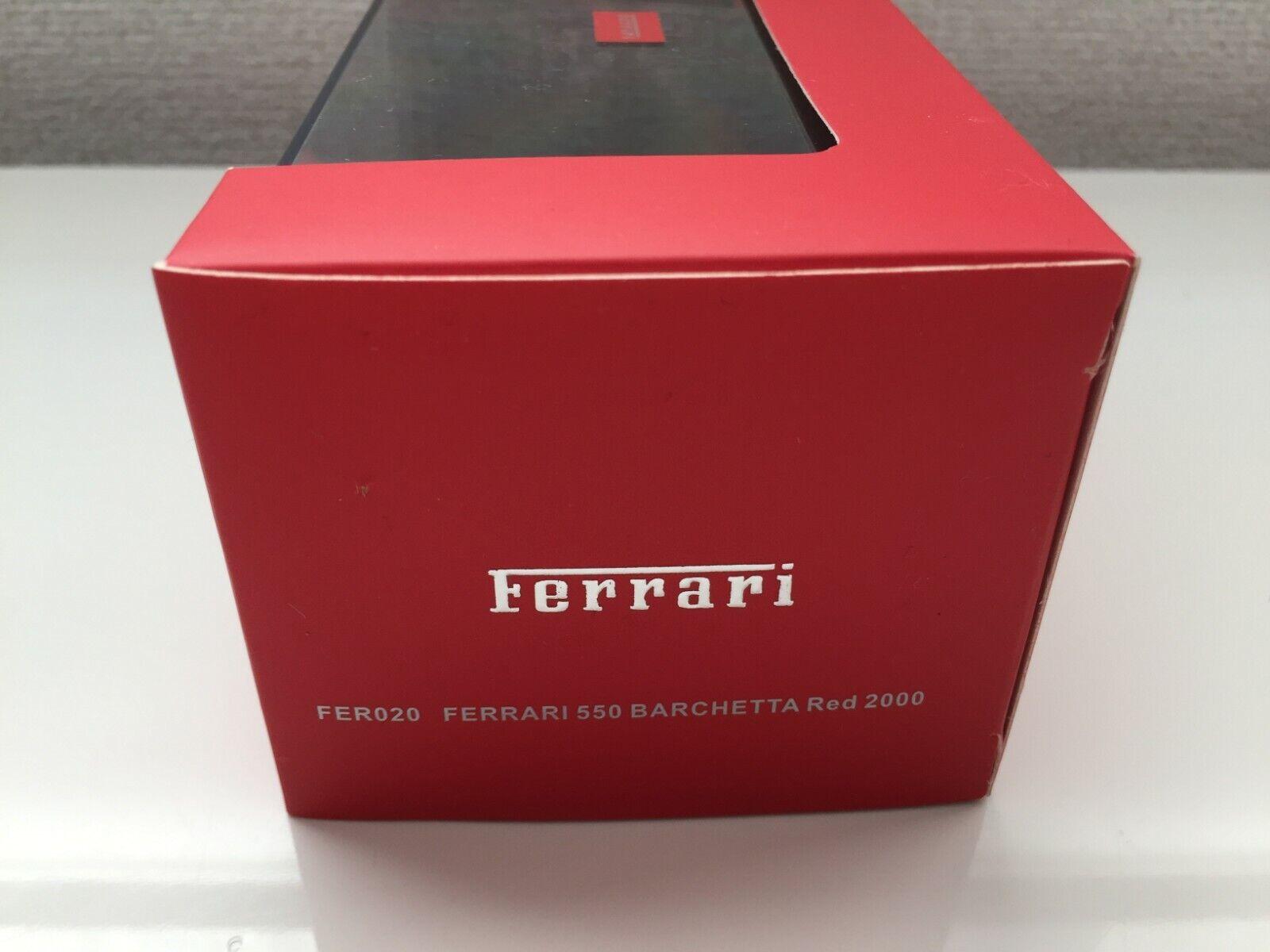 NEW IXO FERRARI 550 BARCHETTA 2000 RED 1 1 1 43 From Japan F S 8e6adc