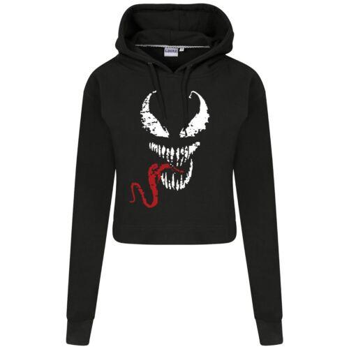 Venom Red Tongue Femme Horreur Logo Sweat à capuche de Noël Noël Fantaisie Ensemble Cadeau Pour Elle