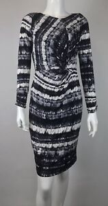 Body Dress Coloured Size Long Sleeved Ghost Multi Small Con w4ngU