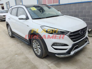 US Stock fits Hyundai All new Tucson 2015-2019 side step running board nerf bar