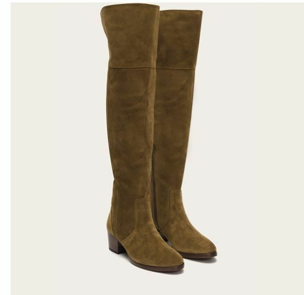 e28d571be83 New! FRYE Clara OTK Over Size  the in 29942 Knee Boot in Cashew ...