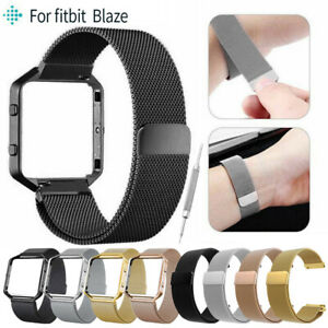 Replacement-Stainless-Steel-Wristband-Mesh-Loop-Bracelet-Strap-for-Fitbit-Blaze