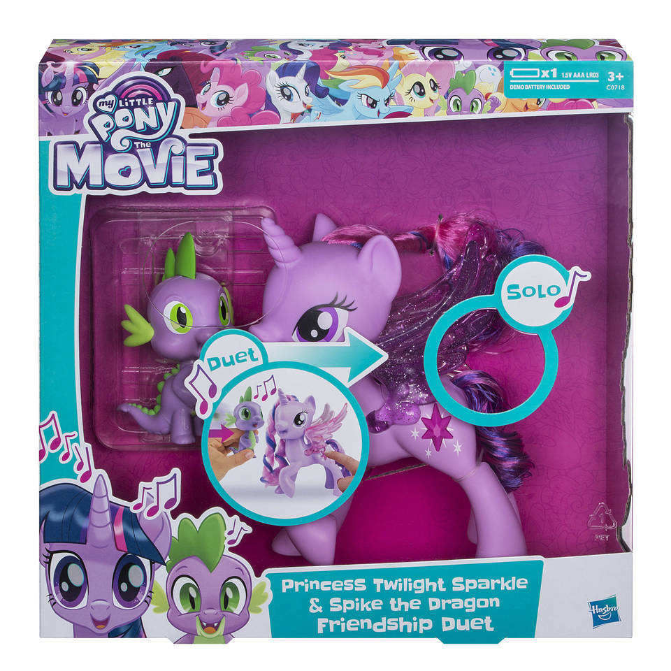 2017 Hasbro My Little Pony The Movie Princess Twilight Sparkle NEW