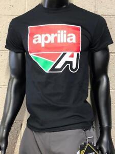 "Aprilia Men's ""A"" Logo T-Shirt with GP Motorcycles Logo | eBay"