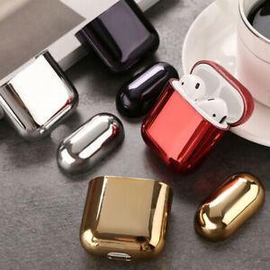 Earphone-shell-Plating-Protector-for-Airpods-2-protective-case-box-cover-HU