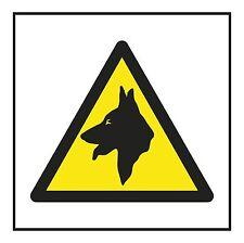1x Danger Dog Warning Sticker Safety for Door Home Bumper Laptop Tablet Locker