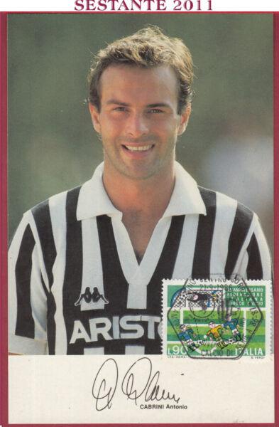 100% De Qualité Italia Maximum Maxi Card Antonio Cabrini Hurrà Juventus 1986 Torino B255