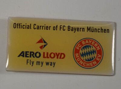 Aero Lloyd - Fc Bayern München - Flugzeug - Pin Badge Ca. 3 X 2 Cm (an3008) Modern Und Elegant In Mode
