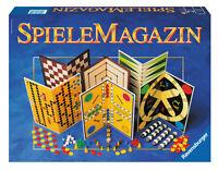 Ravensburger 26301 - SpieleMagazin Spielesammlung Brettspiele Dame Mühle Malefiz