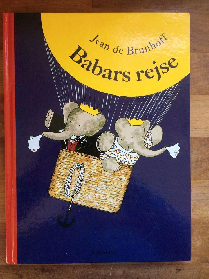 Babars rejse, Jean de Brunhoff