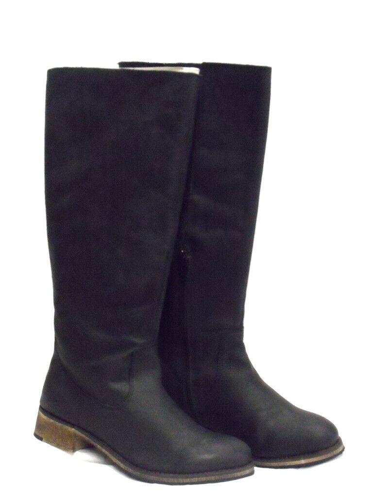 greenIGO PARIS Women's Boots Size 5 Colour Black Valerie