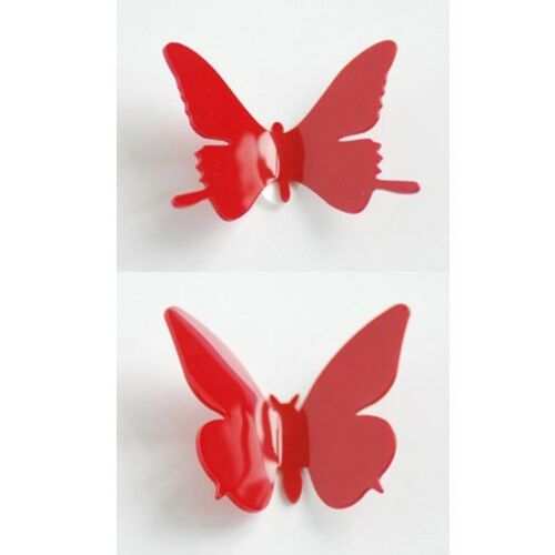 3D DIY Wall Sticker Stickers Butterfly Home Decor Room Decorations 12 pcs j