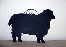 SHEEP chalkboard sign farm animal yard messages office Christmas birthday shop a