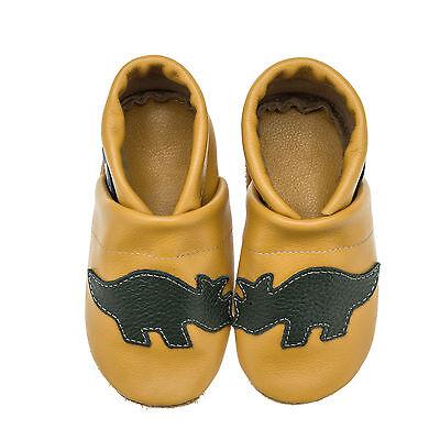 Pantau Kinder Lederpuschen, Lauflernschuhe, Babyschuhe, Baby Krabbelschuhe Dino