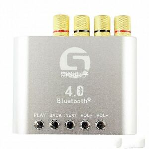Bluetooth-4-0-TDA7498-Mini-Digital-Power-Amplifier-Stereo-HiFi-Bass-Amp-50W-2