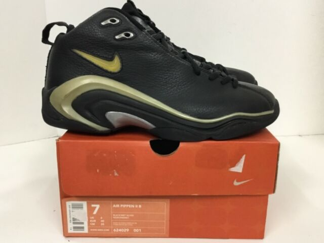 Nike Air Pippen Nike Air Pippen II B Mens sneaker Style# 624029 001 Size 7 black ...