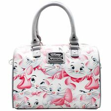 "NEW LOUNGEFLY X Disney ""THE ARISTOCATS MARIE"" Duffle Satchel Handbag -SALE"