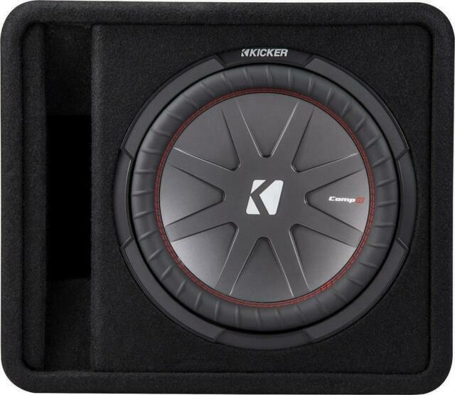 "Kicker Dcws12 Dual Comps 12/"" Loaded Subwoofer Enclosure 2-Ohm 40DCWS122 PICKUP!!"