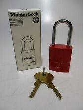 Master Lock 6835red 1 34 High Lockout 5 Pin Keyed Different Red Padlock
