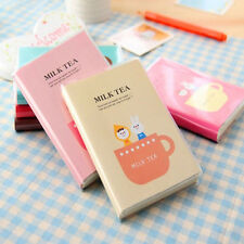 Copybook Daily Memos Pads Traveling Book Diary Planner Notepad Milk Tea Notebook