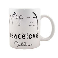 Official John Lennon - Peace & Love - Ceramic Boxed Mug