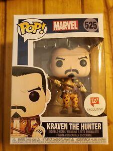 Funko-Pop-Marvel-Kraven-the-Hunter-Vinyl-Figure-Walgreens-Exclusive-New-Sealed