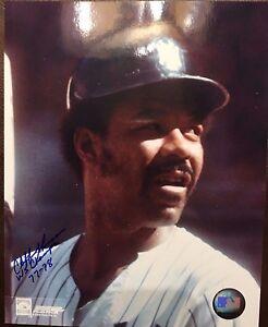CLIFF JOHNSON New York Yankees Original SIGNED Autographed 8x10 Photo