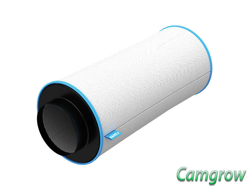 Ram 6 in (approx. 15.24 cm) 150 475mm 500m3 hr Filtro de Cochebón hidropónica de control de los olores