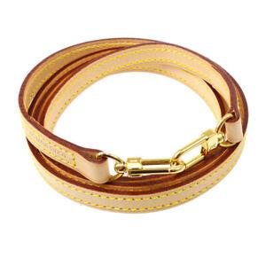 LOUIS-VUITTON-Logos-Shoulder-Strap-Brown-Leather-Handbag-Accessories-AK38606c