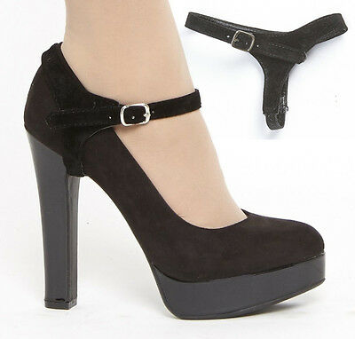 Detachable Shoe Straps Shoostraps (TM) - To hold loose heels, flat shoes