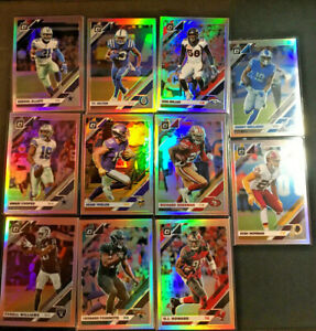2019-Donruss-Optic-Football-Holo-Silver-Base-Parallel-You-Pick-Cards-1-100-BC