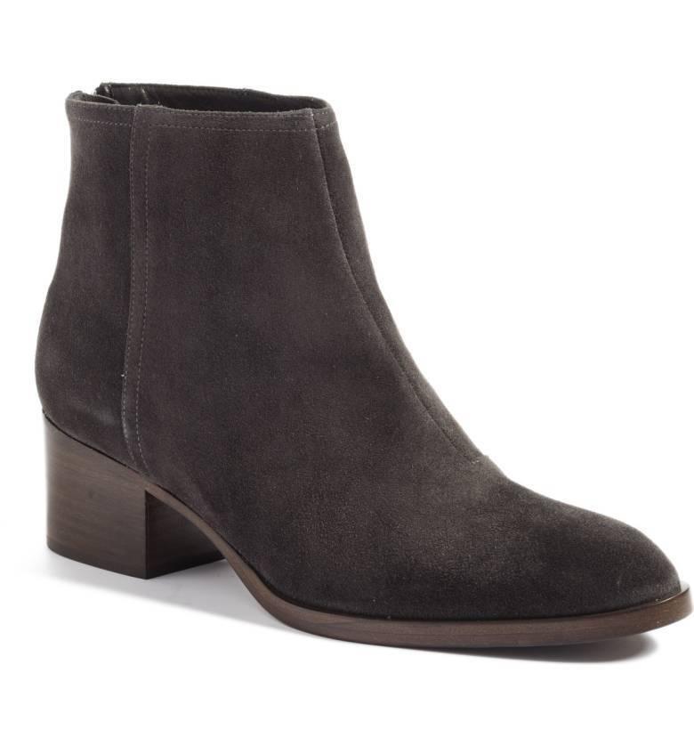 Rag & Bone WESLEY Asphalt Suede Ankle Stiefel Größe 10 NIB