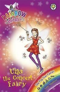 Una-the-Concert-Fairy-Rainbow-Magic-by-Daisy-Meadows-Acceptable-Used-Book-Pa