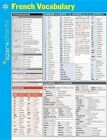 French Vocabulary SparkCharts by SparkNotes 9781411470385 Poster 2014