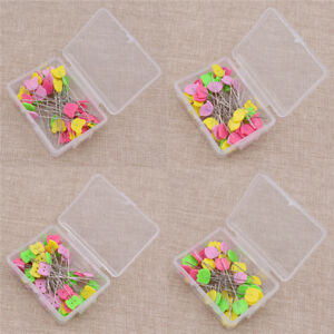 50X Patchwork Pins Bird Button Head Pins DIY Quilting Tool Sewing AccessoriesBL