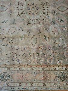 8 x 11.1 ANTIQUE FINE CAUCASIAN HERIZ RUG SERAPI KAZAK USHAK VINTAGE TURKISH