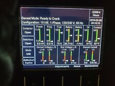 Cummins Mep 1040 Ammps 10kw Tactical Military Diesel Generator 60hz Mep 803a