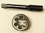 New1pc HSS Machine M19 X 1.25mm Plug Tap and 1pc M19 X 1.25mm Die Threading Tool
