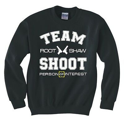 "PERSON OF INTEREST /""TEAM SHOOT/"" SWEATSHIRT NEW"