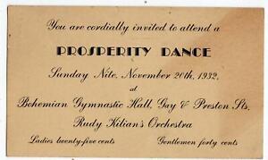1932-PROSPERITY-DANCE-SOKOL-COMMITTEE-BOHEMIAN-GYMNASTIC-HALL-BALTIMORE-ESSEX