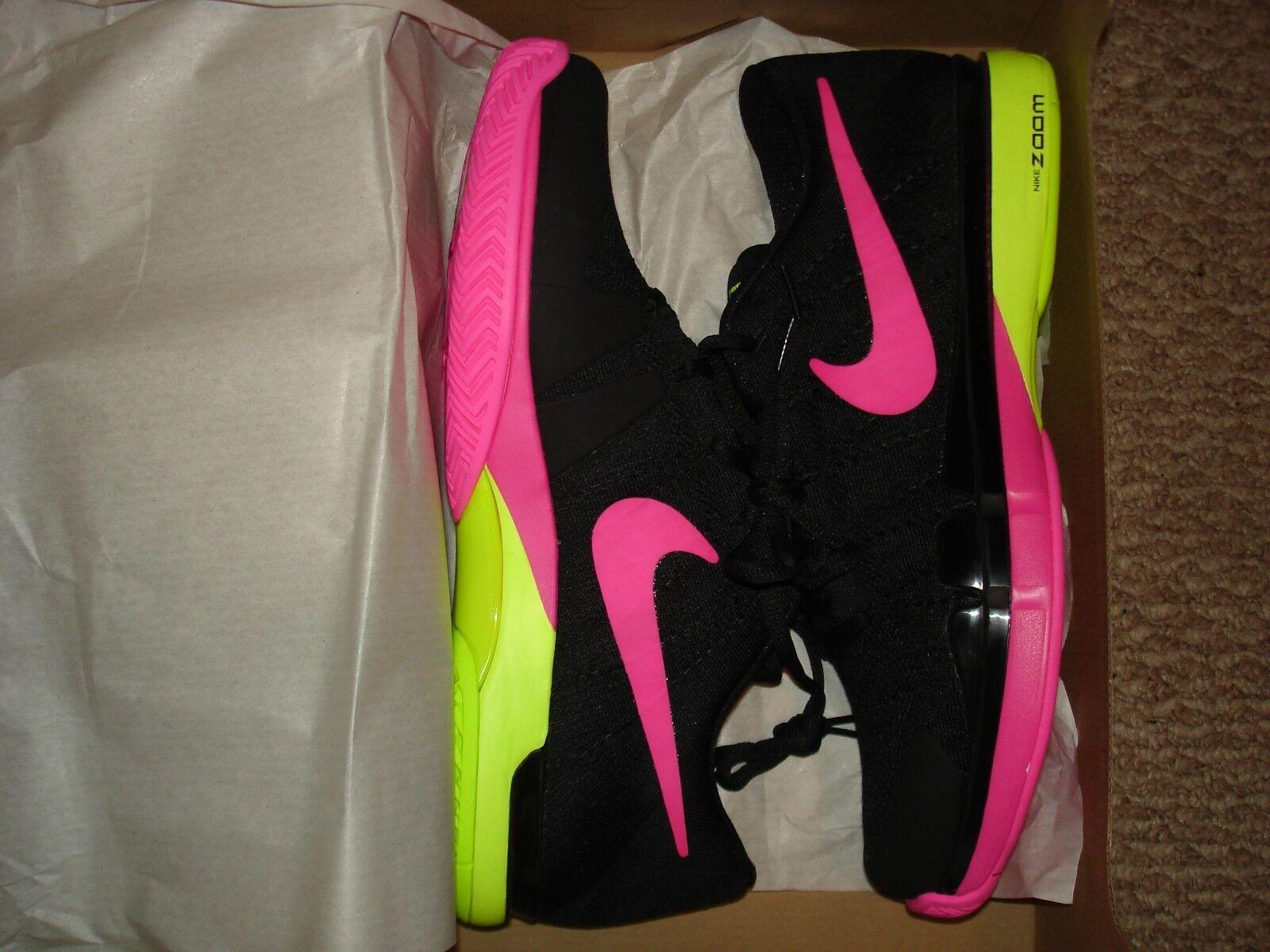 NIB Nike FlyKnit Federer ZOOM VAPOR FlyKnit Nike Tennis Chaussures 845797-007 bb54c9