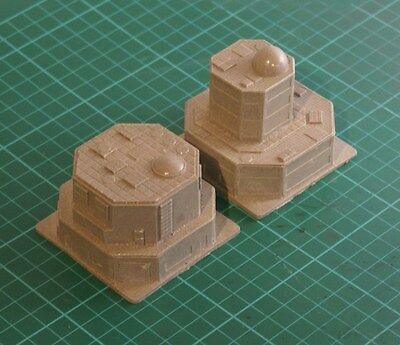 6mm Modern SciFi building Sandstone 6-SF-S4