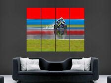 Valentino Rossi Moto Superbike gran Pared Imagen Poster Gigante Gran Arte