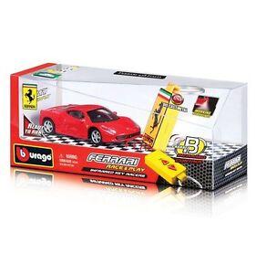 Bburago-1-43-Ferrari-458-Italia-Infrarrojo-clave-Racers-Control-Remoto-carrera-automovilistica-Play