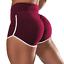 Women/'s High Waist Scrunch Booty Gym Workout Yoga Shorts Butt Lifting Hot Pants