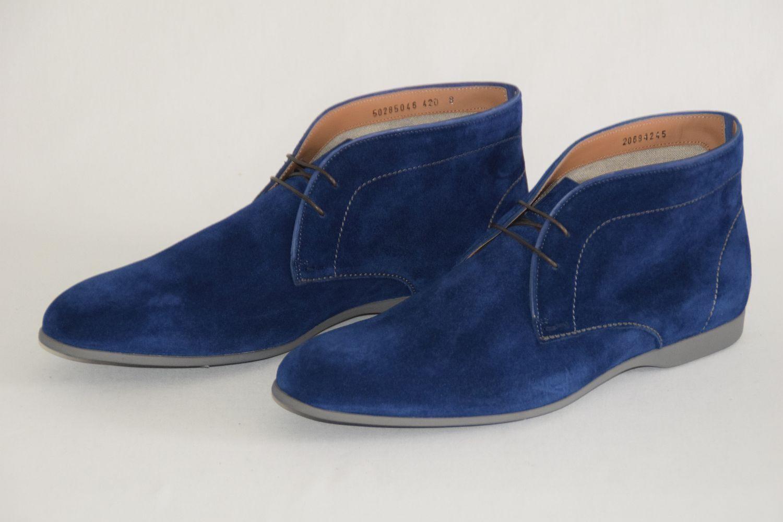 HUGO BOSS BOOTS, Mod. Sorreno, Gr. 42     US 9, Made in , Medium bluee