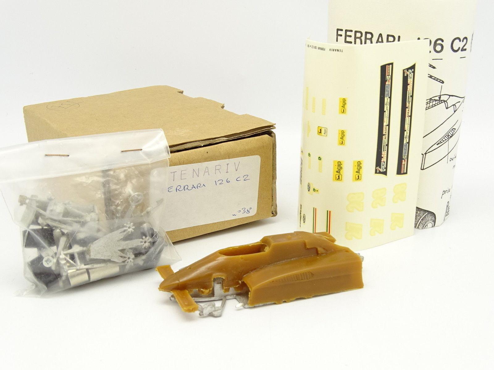 Tenariv Kit to assemble 1 43 - F1 F1 F1 Ferrari 126 C2 1982 b276dc